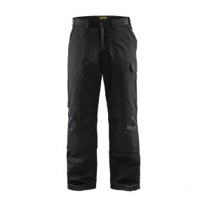 Pantalon de travail polycoton Blaklader Hiver Noir avant