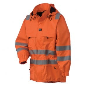 Parka Haute-visibilité Ignifugé ROTHENBURG Helly hansen orange