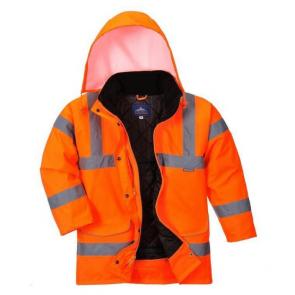 Parka de travail femme Haute visibilité Portwest Traffic Orange