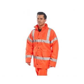 Parka de travail Haute visibilité Portwest Traffic Orange