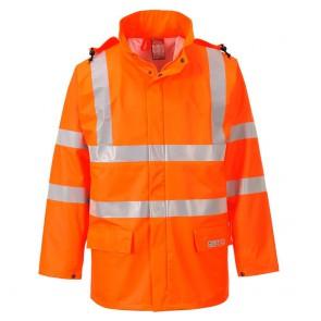 Veste de pluie haute visibilité Portwest Sealtex orange