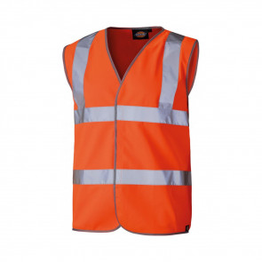 Gilet de sécurité haute visibilité Dickies Orange fluo