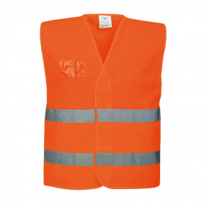 Gilet de sécurité Haute Visibilité semi-grillagé Ventilé Portwest orange