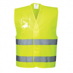 Gilet haute visibilité avec porte-badge double entrée Portwest Vest-Port