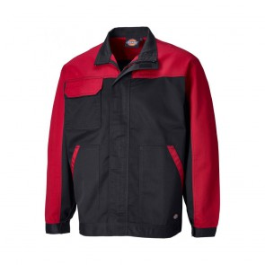 Veste de travail Dickies Everyday noir rouge