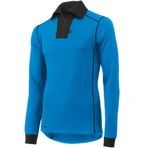 Polo ROSKILDE ZIP Helly Hansen bleu coureur