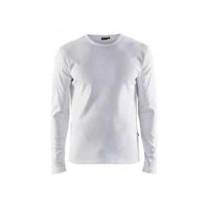 T-shirt manches longues ignifugé Blaklader Blanc face