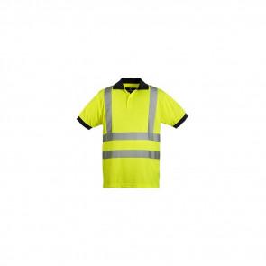 Polo haute visibilité manches courtes Coverguard Yard jaune