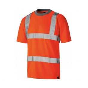 T-shirt de travail haute visibilité Dickies GO/RT Orange fluo