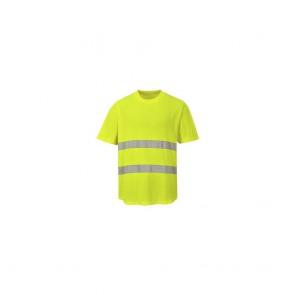 Tee shirt Haute Visibilité Portwest Aéré jaune