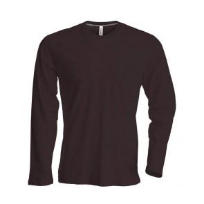 Tee-shirt de travail col rond manches longues Kariban 100% coton
