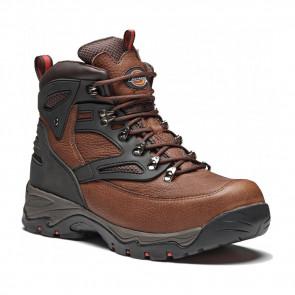 Chaussures de sécurité montantes Dickies Preston S3 SRA marron