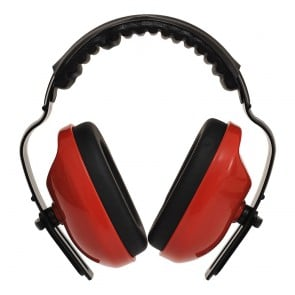 Casque antibruit Classic Plus Portwest rouge