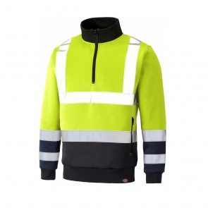Sweat haute visibilité Dickies Two Tone jaune