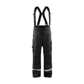 Pantalon de pluie à bretelles Blaklader genoux renforcés