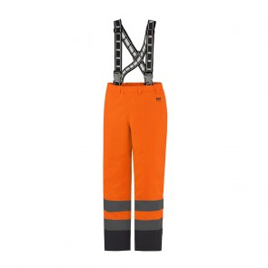 Cotte à bretelles haute-visibilité ALTA INSULATED Helly Hansen orange/charbon