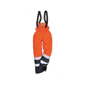 Pantalon à bavette multi-risques Portwest Bizflame bicolore