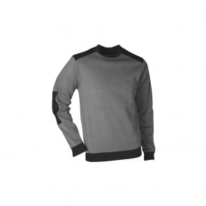 Sweat polaire col rond Atlanta LMA gris