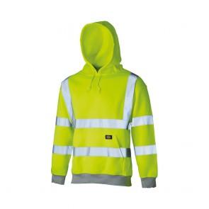Sweat shirt à capuche haute visibilité Dickies jaune