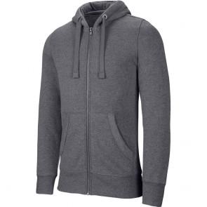 Sweat-shirt de travail zippé capuche Kariban mélange