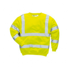 Sweat shirt Haute Visibilité Portwest jaune