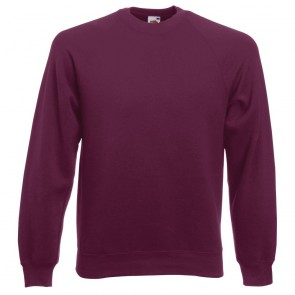 Sweat-shirt manches raglan Fruit Of The Loom Classic
