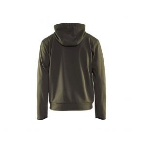 Sweat shirt à capuche Blaklader zippé Contrast