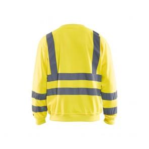 Sweat-shirt haute visibilité Blaklader col rond