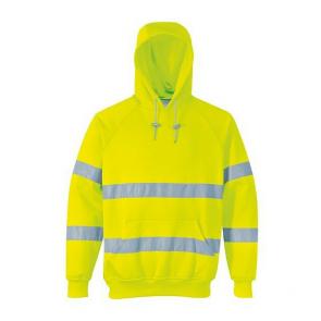 Sweat Shirt à capuche Haute Visibilité Portwest jaune