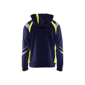 Sweat shirt à capuche haute visibilité Blaklader zippé