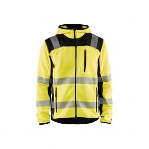 Veste tricotée haute visibilité Blaklader Jaune/Noir