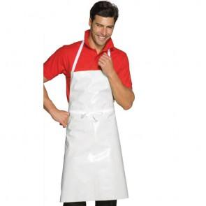 Tablier de cuisine ciré blanc Isacco Pettorina