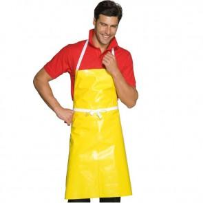 Tablier de cuisine ciré jaune Isacco Pettorina