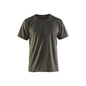 T-shirt Anti-UV et odeur Homme Blaklader vert armée