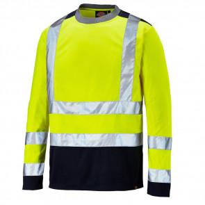 T-shirt de travail manches longues haute visibilité Dickies Two Tone Classe 2