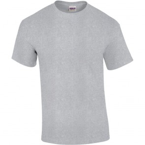 T-shirt manches courtes Gildan ultra cotton gris