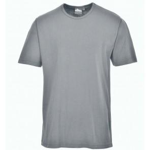 T-shirt Thermique Manches courtes Portwest gris