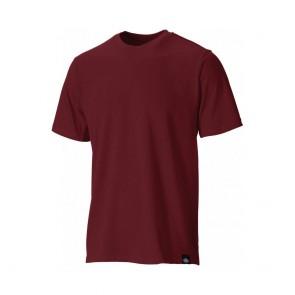 Tee-shirt de travail Dickies 100% coton Bordeaux