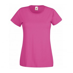 Tee-shirt femme Fruit of the Loom Lady-Fit Valueweight