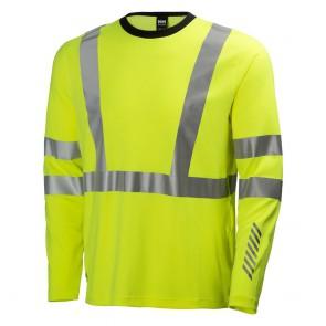 Tee Shirt Haute-Visibilité Manches Longues Helly Hansen Esbjerb Crewneck