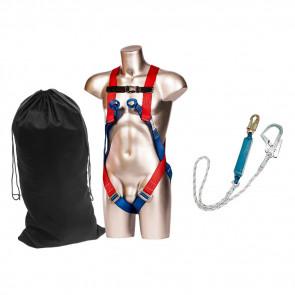 Kit de protection antichute harnais et longe