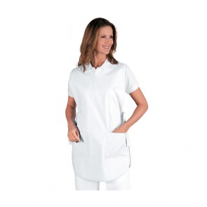 Chasuble de travail Isacco Poncho blanc 100% coton