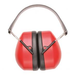 Casque anti-bruit Portwest rouge