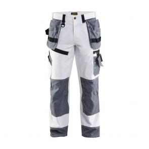 Pantalon de travail peintre X1500 Blaklader 100% coton Face