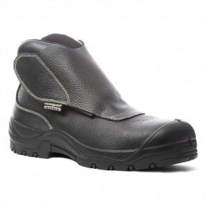 Chaussure de sécurité cuir montante Coverguard Quadrufite S3 coté 2