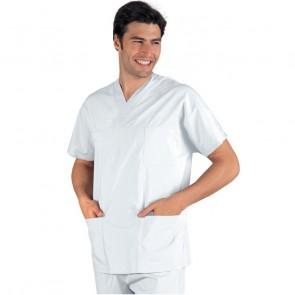 Tunique médicale blanche Isacco Unisexe