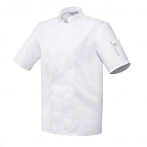 Veste de cuisine mixte manches courtes Robur Nero