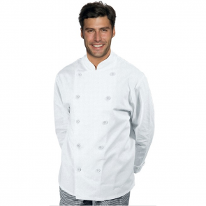 Veste de cuisine Blanc Classique Isacco
