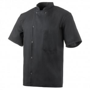 Veste de cuisine mixte manches courtes Robur Inox