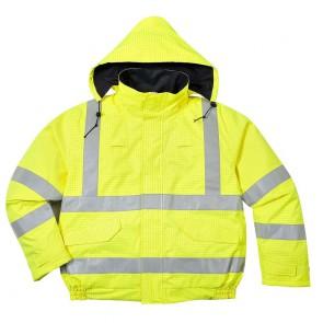 Blouson ignifugé pluie haute visibilité antistatique Portwest Bizflame